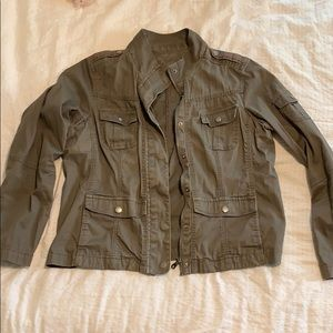 Green/Brown Khaki Jacket Size XL